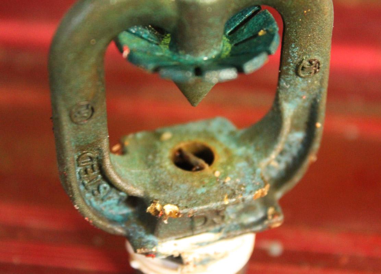 siron dry deluge testing blocked nozzle
